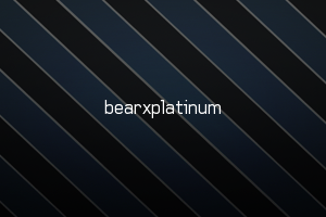 Bearxplatinum