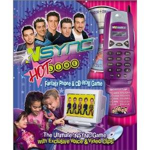 *NSYNC Hotline Phone and Fantasy CD-Rom Game