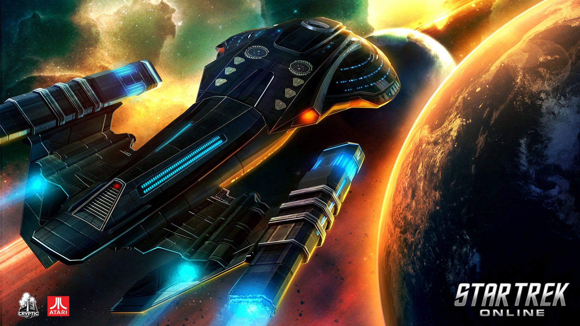Star trek online announced for console release senshudo - Star trek online console ...