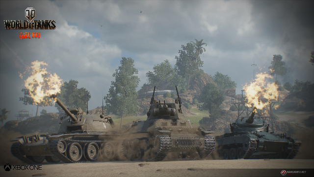 World of Tanks Xbox One Beta July 11-12