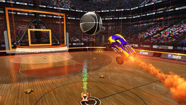 Rocket League Gets Some Hoops