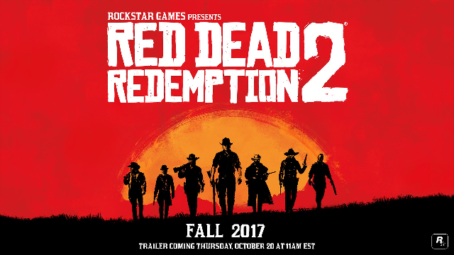 Rockstar Officially Announces Red Dead Redemption 2