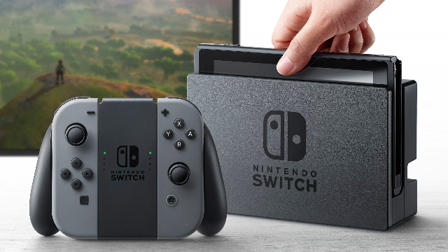 Nintendo Switch Officially Unveiled