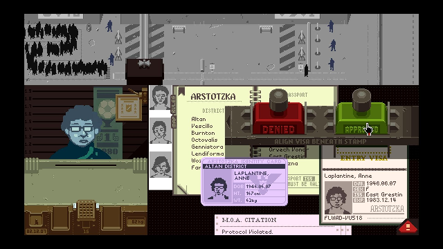 Papers, Please is getting a short film adaptation