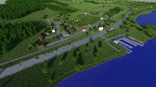 Reddit User Recreates ARMA II's Chernarus in Minecraft