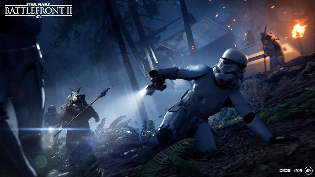 Star Wars Battlefront II: Ewok Hunt Mode Announced